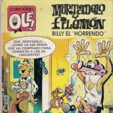 Cómics: COLECCIÓN OLÉ. Nº 265. MORTADELO Y FILEMÓN. 2ª EDICIÓN SEPTIEMBRE 1992. Lote 96007331