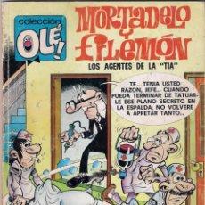 Cómics: COLECCIÓN OLE. MORTADELO Y FILEMÓN. Nº 124. 1ª REIMPRESIÓN DICIEMBRE 1991. Lote 96007427