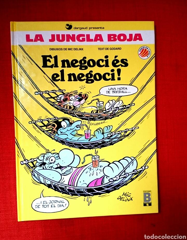 LA JUNGLA BOJA-NO 2.EL NEGOCI ES EL NEGOCI- CATALÀ (Tebeos y Comics - Ediciones B - Otros)