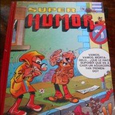Cómics: SUPER HUMOR. VOLUMEN 11. EDICIONES B, 1ª EDICION 1988. TAPA DURA. COLOR. 730 GRAMOS.. Lote 96027339