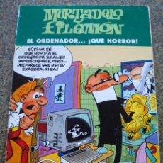 Cómics: MORTADELO Y FILEMON -- EL ORDENADOR QUE HORROR -- EDICIONES BSA 2003 --. Lote 96091895