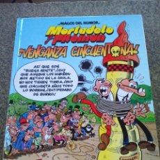 Cómics: MAGOS DEL HUMOR -- MORTADELO Y FILEMON - Nº 121 -- VENGANZA CINCUENTONA -- EDICIONES B 2008 --. Lote 96092291