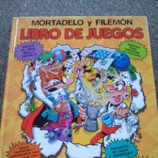 Cómics: LIBRO DE JUEGOS DE MORTADELO Y FILEMON -- EDICIONES B 2004 --. Lote 96092443