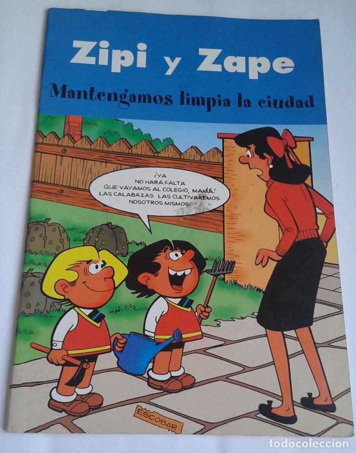 ZIPI Y ZAPE. 2003. MANTENGAMOS LIMPIA LA CIUDAD (Tebeos y Comics - Ediciones B - Clásicos Españoles)