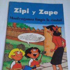 Cómics: ZIPI Y ZAPE. 2003. MANTENGAMOS LIMPIA LA CIUDAD. Lote 96353651