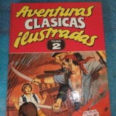Cómics: AVENTURAS CLASICAS ILUSTRADAS EDICIONES B TOMO 2 . Lote 96880923
