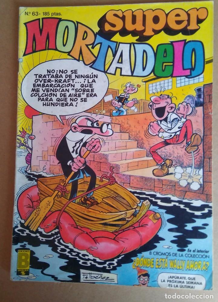 SUPER MORTADELO 63 - EDICIONES B (Tebeos y Comics - Ediciones B - Humor)
