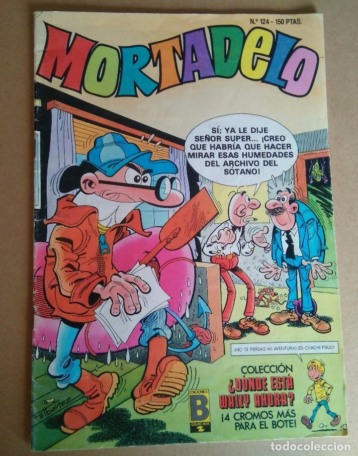 MORTADELO 124 - EDICIONES B (Tebeos y Comics - Ediciones B - Humor)