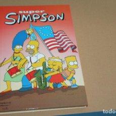 Cómics: SUPER SIMPSON Nº 4, TAPA DURA, EDICIONES B. Lote 97292899