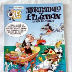 """Cómics: """"MORTADELO Y FILEMÓN, LA RUTA DEL YERBAJO"""" N.º 78. Lote 97943491"""