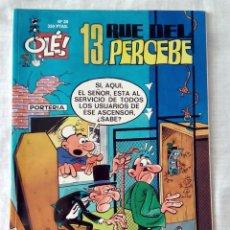 Cómics: 13 RUE DEL PERCEBE, N.º 20. COLECCIÓN OLE. EDICIONES B.. Lote 97956655
