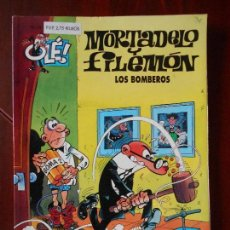 Cómics: MORTADELO Y FILEMON - Nº 53 - LOS BOMBEROS - OLE! - EDICIONES B (T1). Lote 98481555
