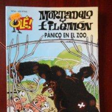 Cómics: MORTADELO Y FILEMON - Nº 54 - PANICO EN EL ZOO - OLE! - EDICIONES B (T1). Lote 98481819