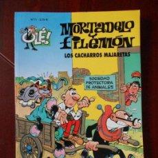 Cómics: MORTADELO Y FILEMON - Nº 71 - LOS CACHARROS MAJARETAS - OLE! - EDICIONES B (V1). Lote 98483779