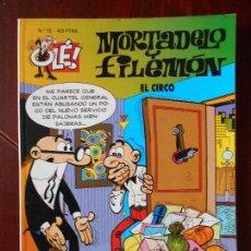 Cómics: MORTADELO Y FILEMON - Nº 72 - EL CIRCO - OLE! - EDICIONES B (V1). Lote 98487991