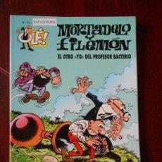 Cómics: MORTADELO Y FILEMON - Nº 74 - EL OTRO YO DEL PROFESOR BACTERIO - OLE! - EDICIONES B (V1). Lote 98488399