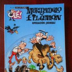Cómics: MORTADELO Y FILEMON - Nº 75 - OPERACION ¡BOMBA! - OLE! - EDICIONES B (V1). Lote 98488603