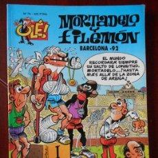 Cómics: MORTADELO Y FILEMON - Nº 76 - BARCELONA-92 - OLE! - EDICIONES B (V1). Lote 98488827