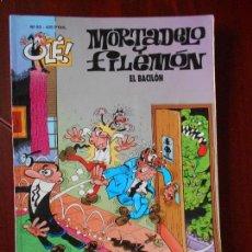 Cómics: MORTADELO Y FILEMON - Nº 83 - EL BACILON - OLE! - EDICIONES B (V1). Lote 98489055