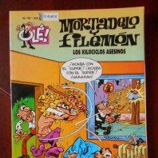 Cómics: MORTADELO Y FILEMON - Nº 85 - LOS KILOCICLOS ASESINOS - OLE! - EDICIONES B (V1). Lote 98489275