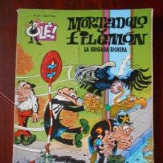 Cómics: MORTADELO Y FILEMON - Nº 87 - LA BRIGADA BICHERA - OLE! - EDICIONES B (V1). Lote 98489459
