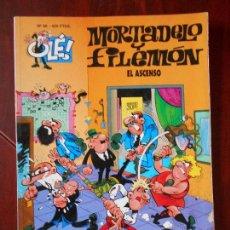 Cómics: MORTADELO Y FILEMON - Nº 88 - EL ASCENSO - OLE! - EDICIONES B (V1). Lote 98489667