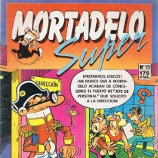 Cómics: MORTADELO SUPER Nº 19 . Lote 98531827
