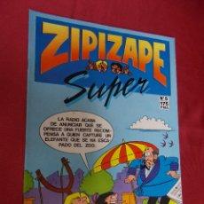 Cómics: SUPER ZIPI ZAPE. Nº 5. EDICIONES B. Lote 98629147