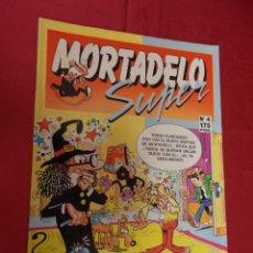 Cómics: SUPER MORTADELO. Nº 4. EDICIONES B. Lote 98630291