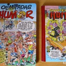 Cómics: LOTE 2 CÓMICS SUPER HUMOR OLIMPIADAS DEL HUMOR CÓMIC CLÁSICO. Lote 98677439