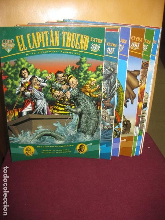 EL CAPITAN TRUENO EXTRA. COLECCION FANS EDICIONES B. DEL Nº 1 AL Nº 18 (FALTAN 14,16 Y 17) (Tebeos y Comics - Ediciones B - Clásicos Españoles)