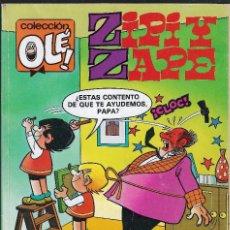 Cómics: ZIPI Y ZAPE - Nº 332 - ESCOBAR - COLECCIÓN OLÉ - EDICIONES B - 1988.. Lote 99173851