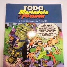 Cómics: TODO MORTADELO Y FILEMON - NUM 3 - EDIC. B- 2005. Lote 99338824