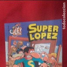 Fumetti: SUPER LOPEZ 4 - LOS ALIENÍGENAS - JAN - RUSTICA TAMAÑO GRANDE. Lote 99344539