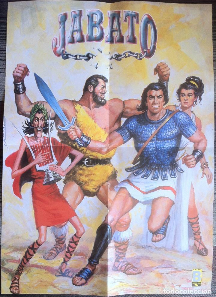 POSTER DE JABATO - EDICIONES B (Tebeos y Comics - Ediciones B - Clásicos Españoles)