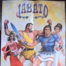 Cómics: POSTER DE JABATO - EDICIONES B. Lote 99373899