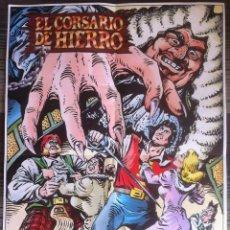Cómics: POSTER DE EL CORSARIO DE HIERRO - EDICIONES B. Lote 99374411