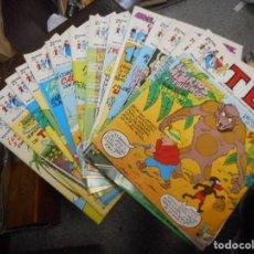 Cómics: LOTE TEBEO TBO EDICIONES B DEL 1 AL 15 MUY BUEN ESTADO. Lote 99772731