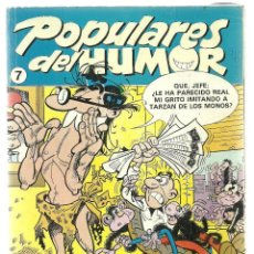 Cómics: POPULARES DEL HUMOR Nº 7 - EDICIONES B . Lote 100030899