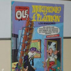 Cómics: COLECCION OLE Nº 101 MORTADELO Y FILEMON LOS INVASORES - EDICIONES B 1ª EDICION. Lote 100083315