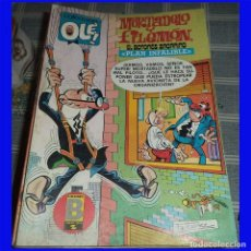 Cómics: MORTADELO Y FILEMON ED. B COL. OLE 193-M.225 PLAN INFALIBLE 1ª REIMPRESION 1991. Lote 100301719