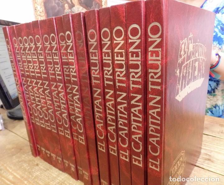 Cómics: CAPITÁN TRUENO EDICIÓN HISTÓRICA TOMOS NºS 4 al 8, lotazo 5 TOMOS. ED. B 1987 GANGA Y TAMBIÉN SUEL - Foto 2 - 101081851