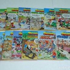 Cómics: MORTADELO Y FILEMON, TAPA DURA EDICIONES B LOTE 12 COMICS, PERFECTO ESTADO. ENVIO GRATIS.. Lote 101226527