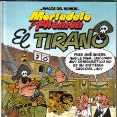 Cómics: MORTADELO Y FILEMON - EL TIRANO. Lote 101410199
