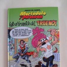Cómics: MORTADELO Y FILEMÓN. BAJO EL BRAMIDO DEL TRUENO. NÚMERO 112. Lote 101465223