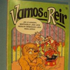 Cómics: VAMOS A REIR ES UNA ANTOLOGIA DE MORTADELO Y FILEMON, ZIPI ZAPE..., 1987, 36 PAG.. Lote 101613055