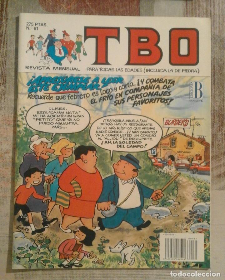 TBO - Nº 61 - FEBRERO 1993 (Tebeos y Comics - Ediciones B - Clásicos Españoles)