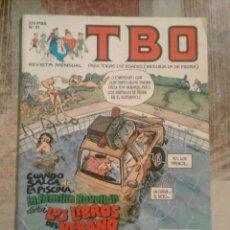 Cómics: TBO - Nº 31 - AGOSTO 1990. Lote 101763667