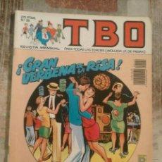Cómics: TBO - Nº 29 - JUNIO 1990. Lote 101764271