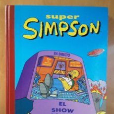 Cómics: SUPER HUMOR - EL SHOW DE HOMER - LOS SIMPSON. Lote 102143931